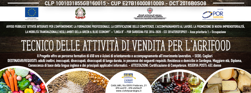 Course Image Tecnico Agrifood 364 - La qualità nel settore Agrifood