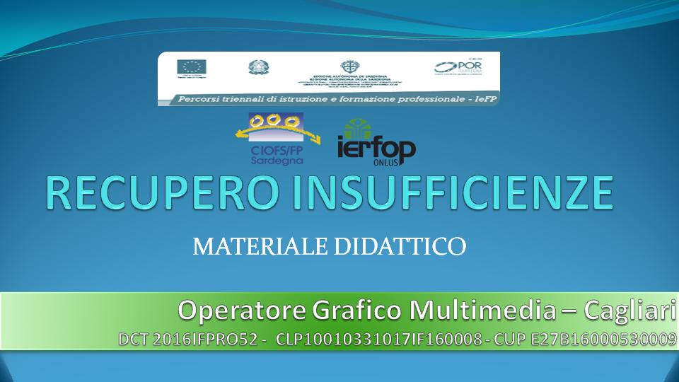 Course Image Spazio Recupero - Grafici IERFOP